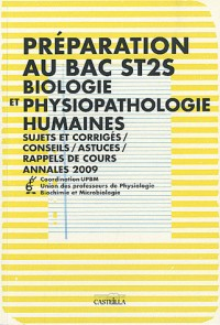 Bac St2s Biologie et Physiopathologies Humaines