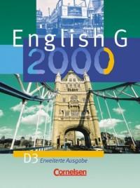 English G 2000. D 3. Schülerbuch. Erweiterte Ausgabe.