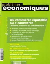 Du commerce équitable au e-commerce La liberté retrouvée du consommateur? (n.2931)