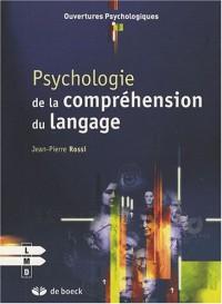 Psychologie de la compréhension du langage
