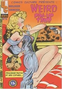 Golden comics n°02 Weird Pin Up Tales