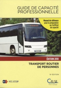 Guide de capacité professionnelle 2010 : Transport public routier de personnes