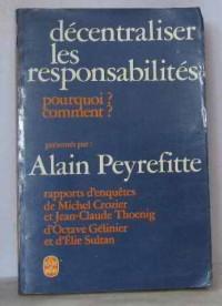 Décentraliser les responsabilité
