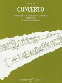 CIMAROSA D. - Concierto en Do menor para Oboe (Clarinete) y Piano (Benjamin)