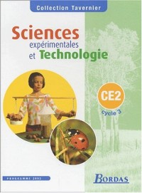 Tavernier : Sciences expérimentales et technologie, cycle 3 : CE2