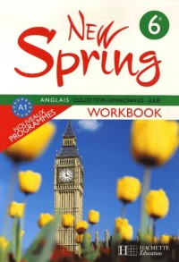 New Spring Anglais 6e : Workbook