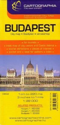 Budapest City : 1/22 000