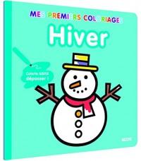 Mes premiers coloriages - Hiver