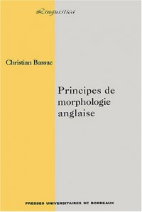 Principes de morphologie anglaise