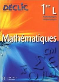 Mathématiques, 1ère L