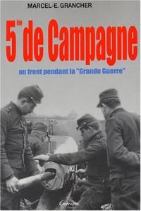 5ème de campagne
