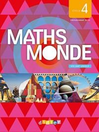 Maths Monde cycle 4 - Livre