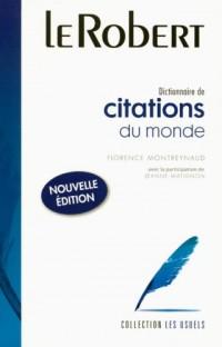 Dictionnaire de citations du monde