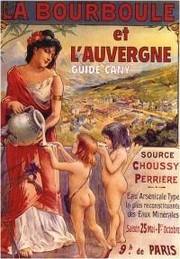 La Bourboule et l'Auvergne : Guide Cany, édition 1950