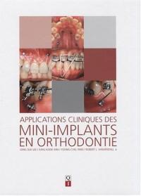 Applications cliniques des mini-implants en orthodontie