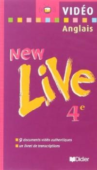 New Live : 4e LV1, anglais (vidéo)