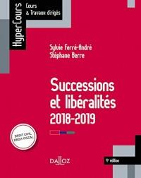 Successions et libéralités - 4e éd.