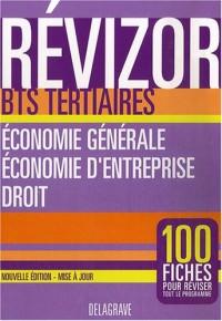 Economie générale, économie d'entreprise, droit BTS tertiaires
