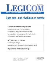 Legicom N 56-Open Data : une Revolution en Marche