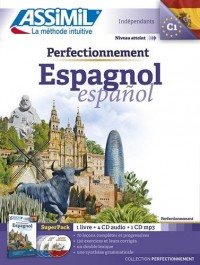 Superpack perfectionnement Espagnol (livre+4 Cd audio+1Cd mp3)