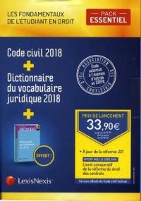 Pack Etudiant Essentiel 2018
