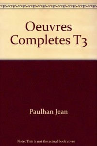 Oeuvres Completes T3