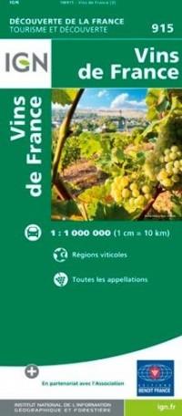 FRANCE CARTE DES VINS