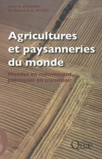 Agriculture et paysannerie du monde : Mondes en mouvement, politiques en transition