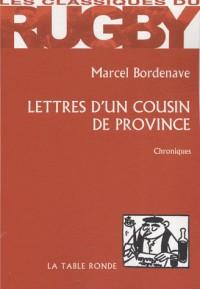 Lettres d'un cousin de province