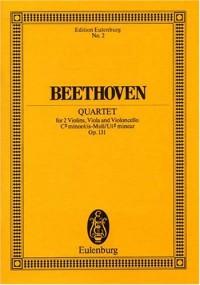 String Quartett in C-sharp minor Opus 131