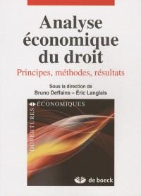 Analyse économique du droit : Principes, méthodes, résultats