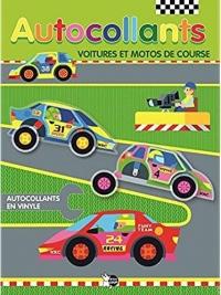 Autocollants voitures et motos de course