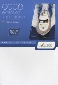 Permis bateau, Code extension : Préparation à l'examen