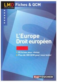 L'Europe : Droit européen