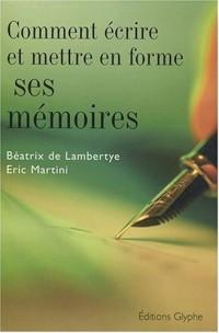 Comment écrire et mettre en forme ses mémoires