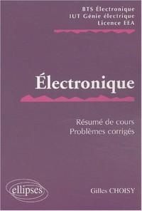 Electronique : Résumé de cours / Sujets corrigés
