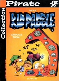 BD Pirate : Kid Paddle, tome 2 : Carnage total