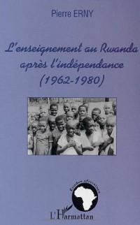 L'enseignement au Rwanda aprés l'indépendance (1962-1980)