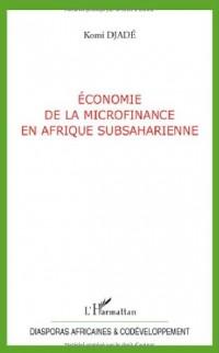 Economie de la microfinance en Afrique Subsaharienne