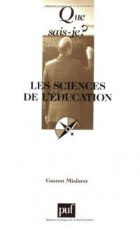 Que sais-je : Les Sciences de l'éducation
