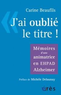 Animation et Alzheimer : Être Sujet d'Abord