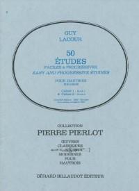 50 Etudes Faciles et Progressives Volume 1 - Hautbois