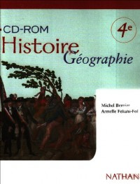HISTOIRE GEOGRAPHIE 4E CD ROM ELEVE Livre scolaire