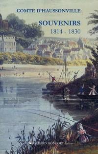 Souvenirs : Ma jeunesse 1814-1830