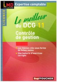 Le meilleur du DCG11 : Contrôle de gestion