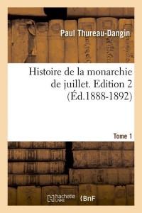 Histoire Mon Juillet  ed 2 T1  ed 1888 1892