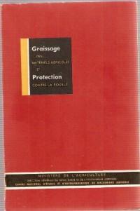 Graissage des matériels agricoles et protection contre la rouille