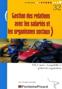 Gestion des Relations avec les Salariés et les Org Sociaux Sage Bts2 Cgo