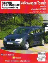 Rta 693.1 Vw Touran 1.9 et 2.0 Tdi 04/2003