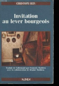 Invitation au lever bourgeois